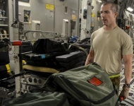 Airmen Transport Soldier Suffering From Respiratory Failure